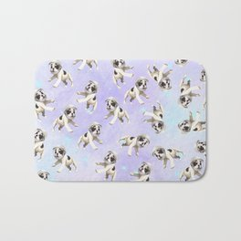 Pastel Space Pups Bath Mat