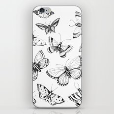 Butterflies and moths iPhone & iPod Skin
