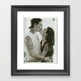 Johnny & Winona // Framed Art Print