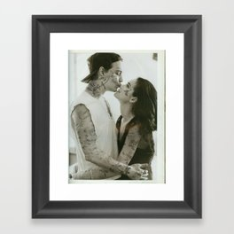 Johnny & Winona // Framed Art Print