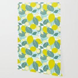 Lemons and Slices Wallpaper
