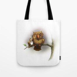 Caffeinated Owl Tote Bag