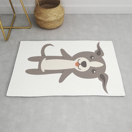Italian Greyhound Gift Idea Rug