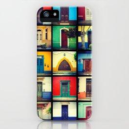 puertas BARRANCO iPhone Case