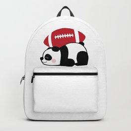 Panda Football Backpack
