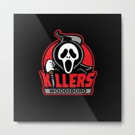 Woodsboro Killers Metal Print