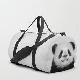 Panda Bear - Black & White Duffle Bag