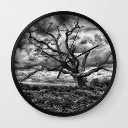 Tree Alone Wall Clock