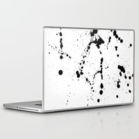 splatter Laptop & iPad Skins featuring Splatter by Marcie Grace