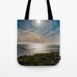 Sunstar Ano Nuevo State Reserve California Coast Tote Bag