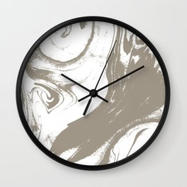 Marble pattern watercolor painting marbling effect cell phone cases with marble Wall Clock