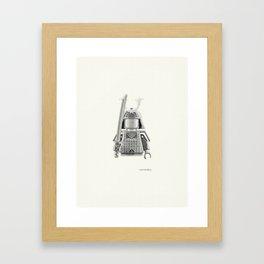 Japanese Warrior Framed Art Print