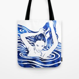Water Nymph IV Tote Bag