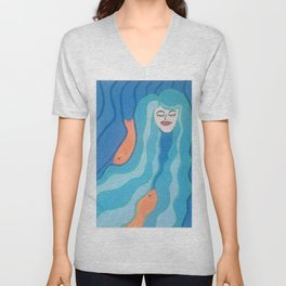 Sea of Thoughts Unisex V-Neck