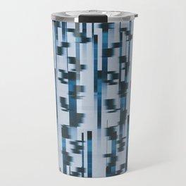 Distorted Lines Travel Mug