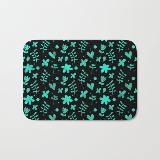 Colorful Lovely Pattern XVII Bath Mat