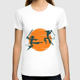 Samurai Battle T-shirt