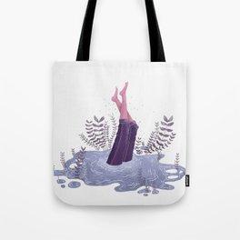 Deep Deep Down - Jump In Tote Bag