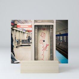 Disconnect Mini Art Print
