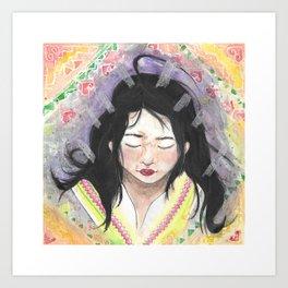 Paaj Yeeg Art Print