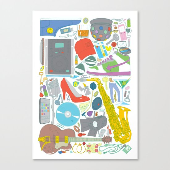 Lost Something? Canvas Print