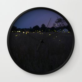 Lanterns in the Sky Wall Clock