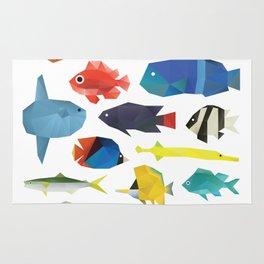 Tropical Fish chart Rug