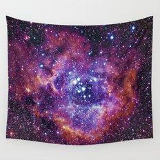 Rosette Nebula Wall Tapestry