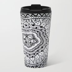 Doodle1 Metal Travel Mug