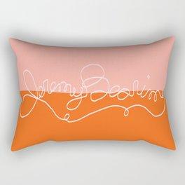 Jeremy Bearimy, Baby in Sunrise Rectangular Pillow