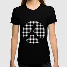 Plaid Dark Black T-shirt