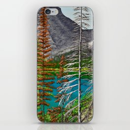 Bertha Lake, Waterton iPhone Skin