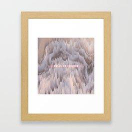 Wall of Jericho Framed Art Print