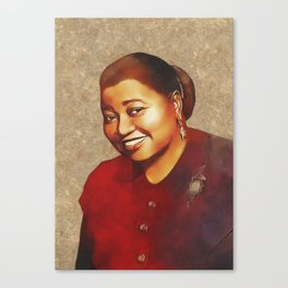 Hattie McDaniel, Hollywood Legend Canvas Print