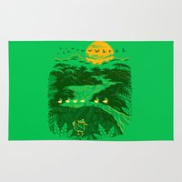 apocalypse now Area & Throw Rugs featuring Apocalypse Now : Reducks by Matt Wasser