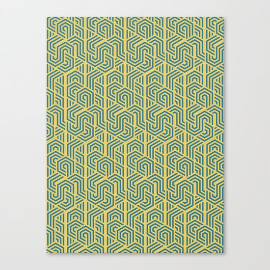 Pattern Vibes Canvas Print