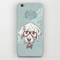 puppy iPhone & iPod Skins featuring Puppy by Iriskana