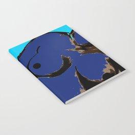 Recline in Blue Notebook