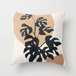Minimal Pot Life II Throw Pillow