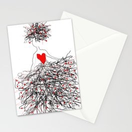 Madly in love Stationery Cards