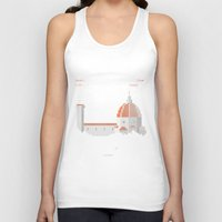 florence Tank Tops featuring FLORENCE ARCADE by TommiGiomi