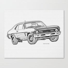 1968 Nova Canvas Print