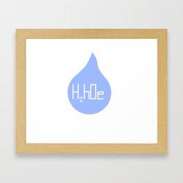 H2hOe Framed Art Print