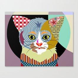 Spectrum Cat Canvas Print