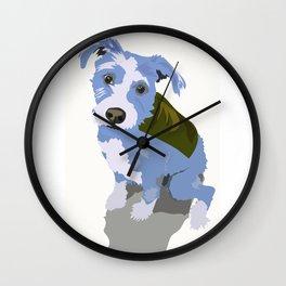 Clarence Cartoon Wall Clock