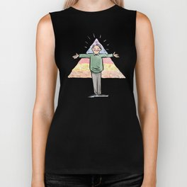 Amazin' Abe Maslow and His Hierarchy of Needs Biker Tank
