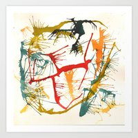 politics Art Prints featuring Contemporary Politics by Andready
