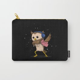 Dabbing Owl Carry-All Pouch