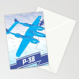 P-38 Lightning Stationery Cards