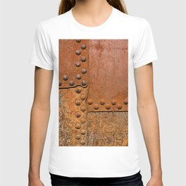 Rusty metal wall surface T-shirt
